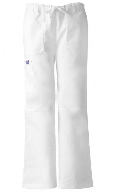 Zdravotnícke oblečenie - Dámske nohavice - 4020-WHTW
