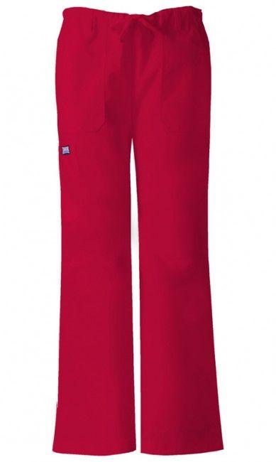 Zdravotnícke oblečenie - Dámske nohavice - 4020-REDW