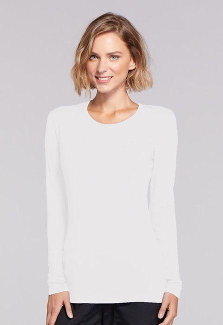 Zdravotnícke oblečenie - Dámske blúzy - 4881-WHTW