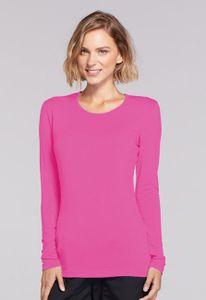 Dámske tričko dlhý rukáv - ružová