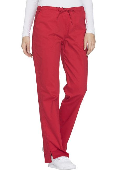 Zdravotnícke oblečenie - Dámske nohavice - WW130-REDW