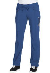 1c46d78f747b Dámske zdravotnícke nohavice rovného strihu CERTAINTY - kráľovská modrá