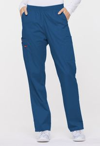 Dámske nohavice s gumou v páse - kráľovská modrá