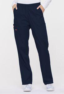 Dámske nohavice s gumou v páse - námornícka modrá