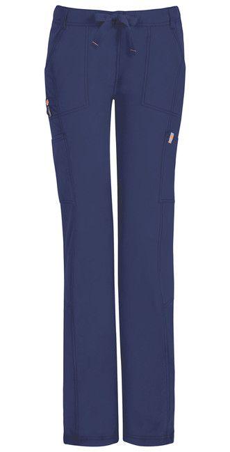 Dámske nohavice s nízkym sedom CERTAINTY - námornícka modrá