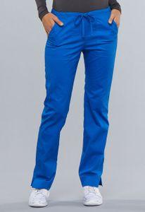 Dámske nohavice úzkeho strihu- kráľovská modrá