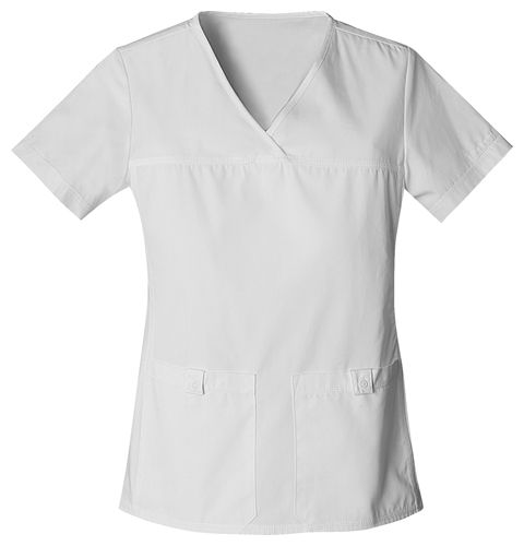 Zdravotnícke oblečenie - Dámske blúzy - 2968-WHTS