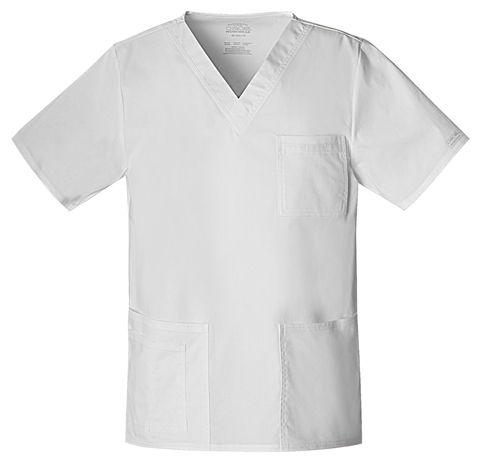 Zdravotnícke oblečenie - Dámske blúzy - 4725-WHTW