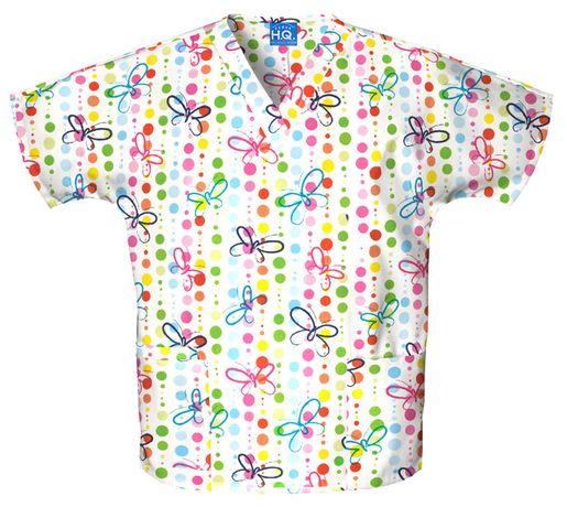 Zdravotnícke oblečenie - Blúzy s potlačou - 4700-BUDO