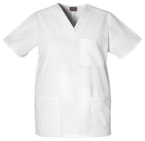 Zdravotnícke oblečenie - Pánske blúzy - 4876-WHTW