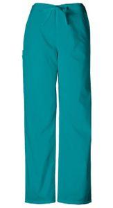 Nohavice so šnurovaním - modrozelená