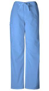 Nohavice so šnurovaním - nebeská modrá