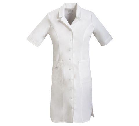 Zdravotnícke oblečenie - Zdravotnícke šaty - 4508-WHTW