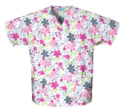 Zdravotnícke oblečenie - Blúzy s potlačou - 4700-SVAL